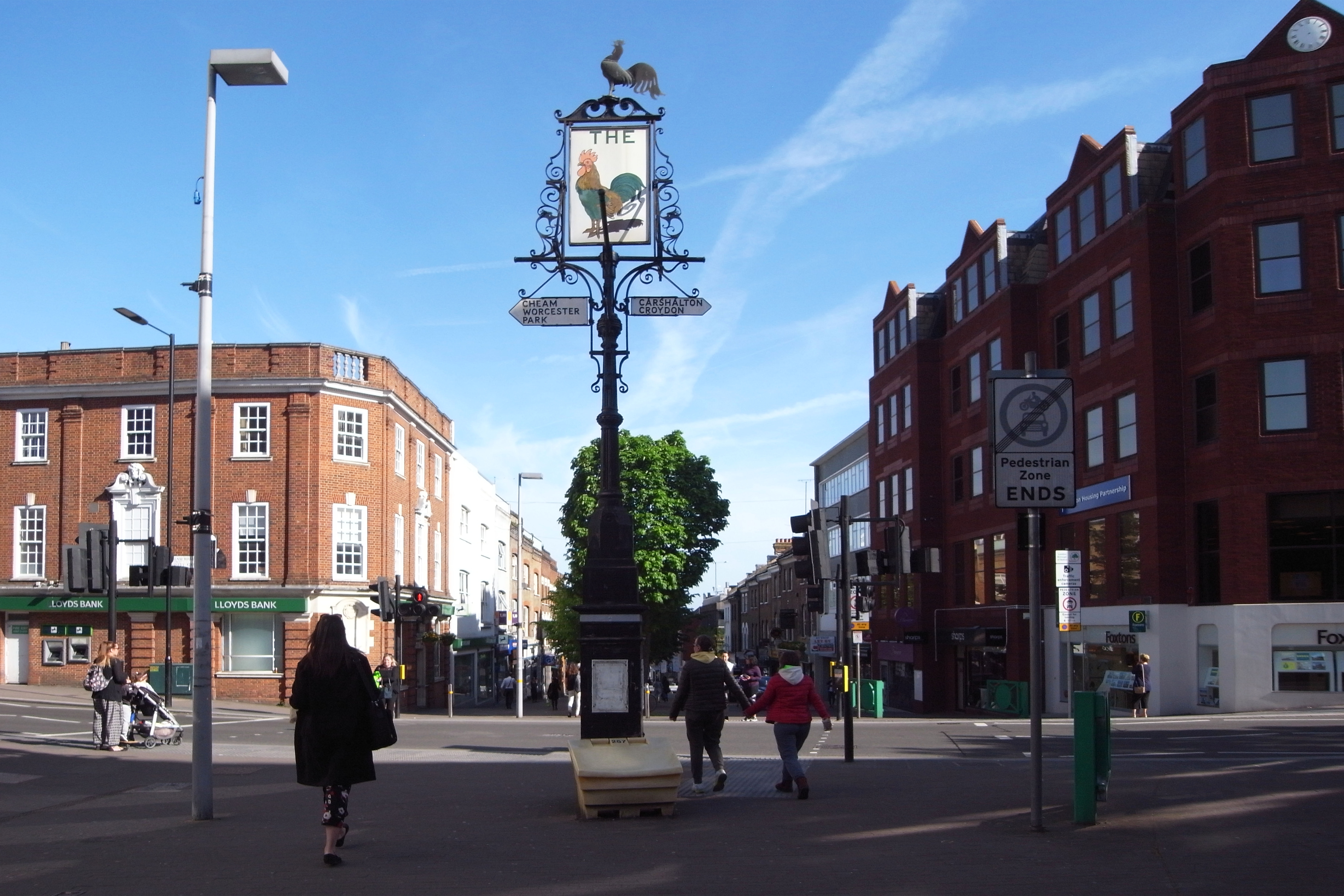 Sutton High Street corrected