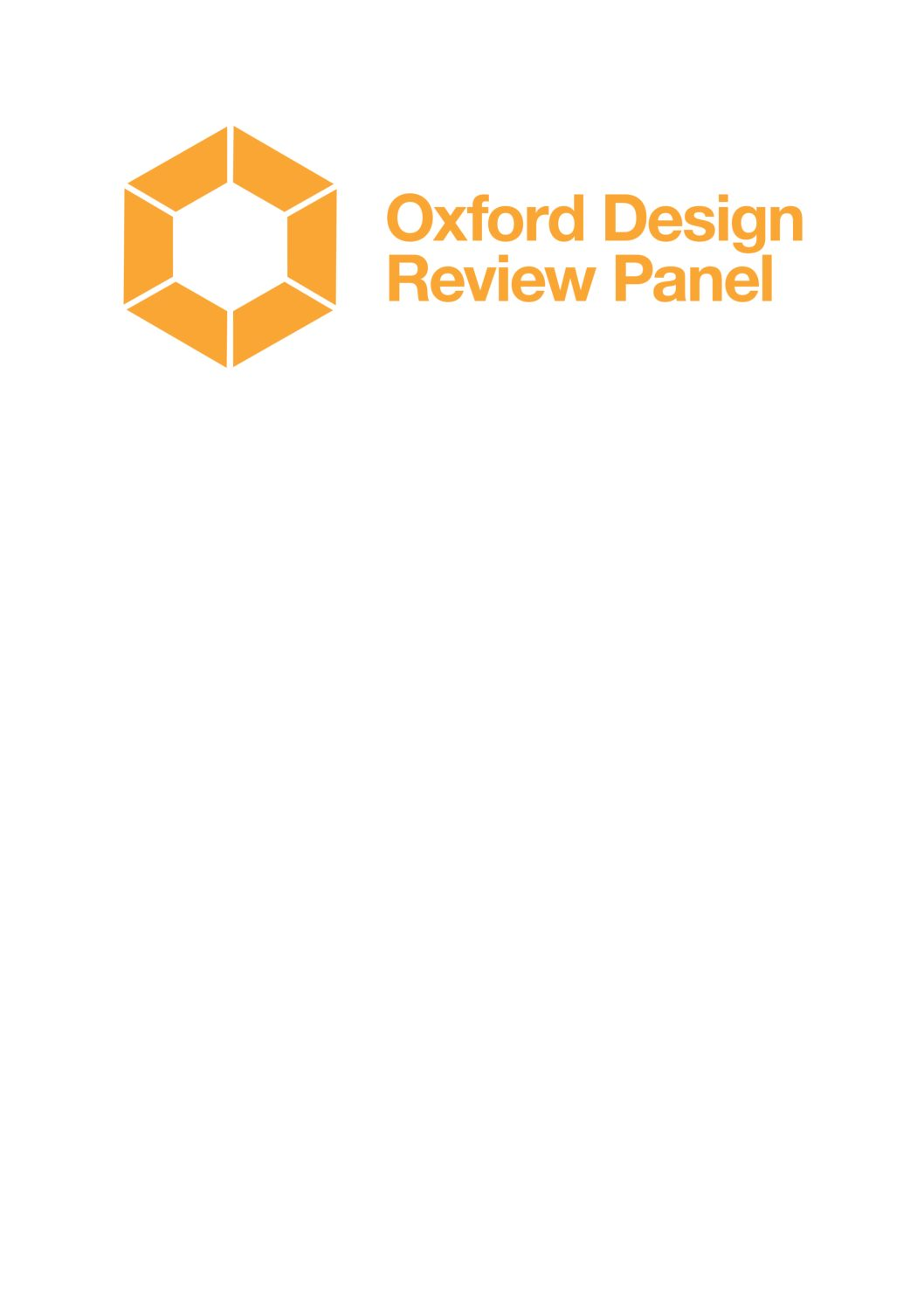 – Design South East and Oxford City Council are seeking applications to form a new Oxford Design Review Panel
